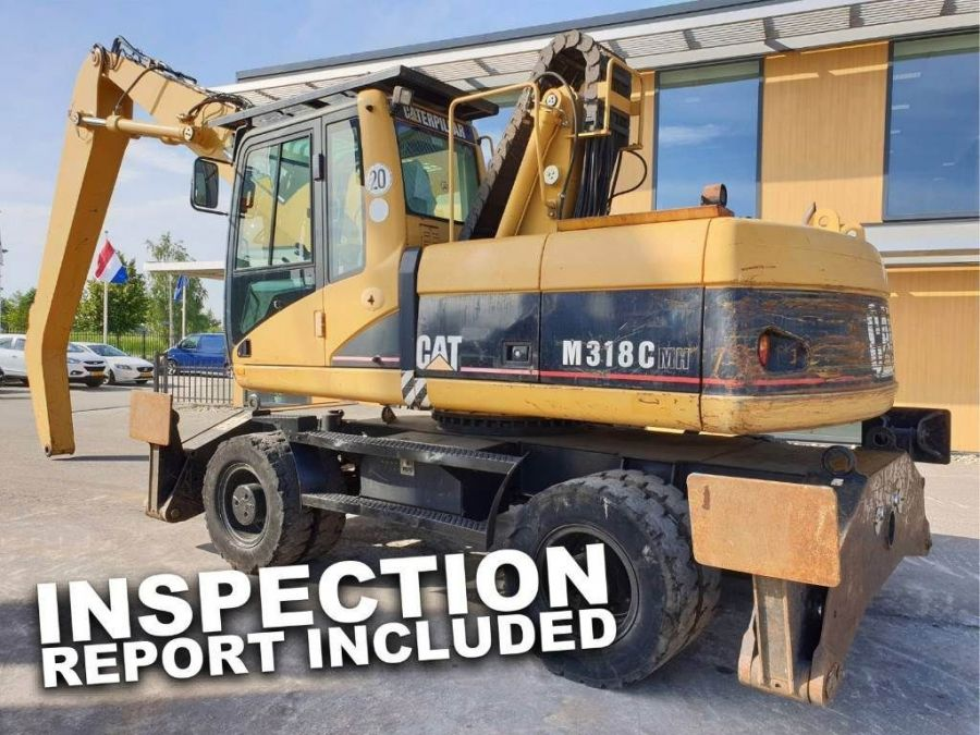 Used Material Handler 2006 Caterpillar M 318 C MH for Sale - 1