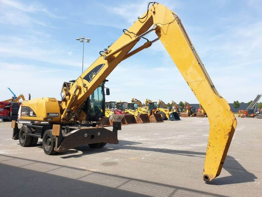 Used Material Handler 2006 Caterpillar M 318 C MH for Sale - 4