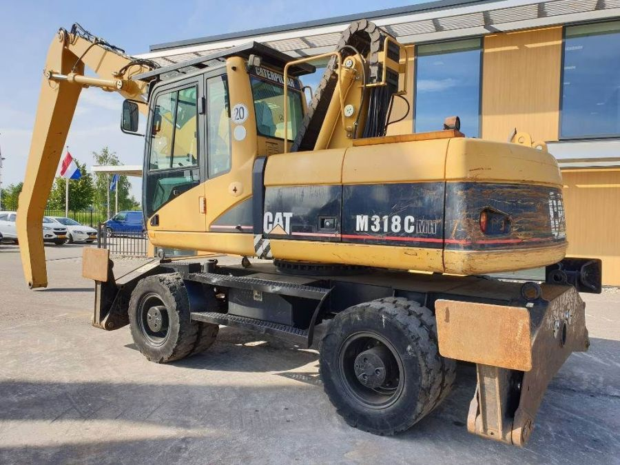 Used Material Handler 2006 Caterpillar M 318 C MH for Sale - 2