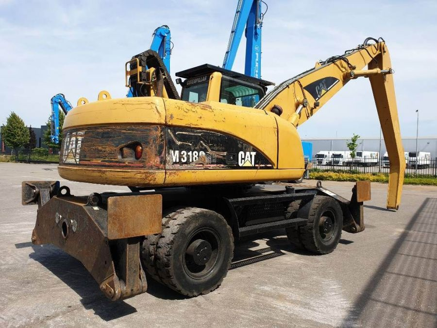 Used Material Handler 2006 Caterpillar M 318 C MH for Sale - 3