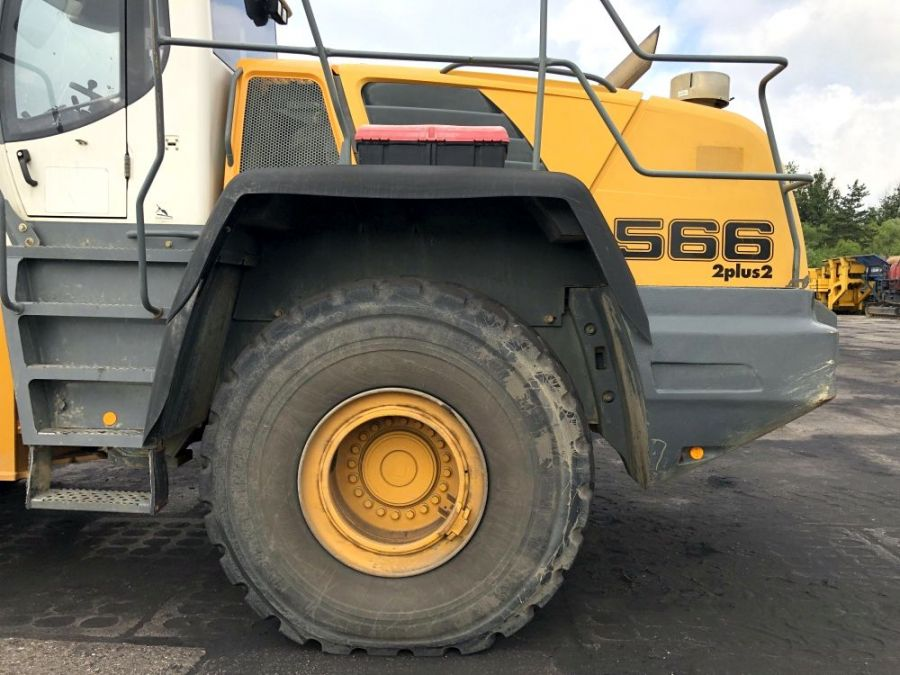 Used Wheel Loader 2008 Liebherr L 566 for Sale - 4 - Thumbnail