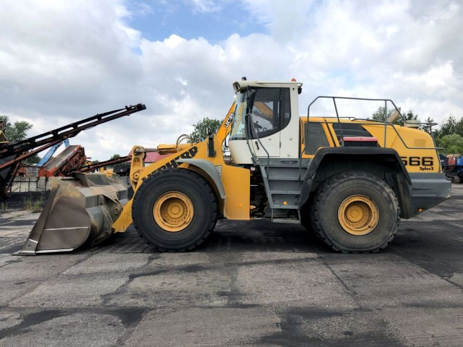 Used Wheel Loader 2008 Liebherr L 566 for Sale - 2 - Thumbnail