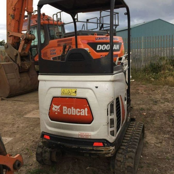 Used Excavator 2011 Bobcat E19 for Sale - 2