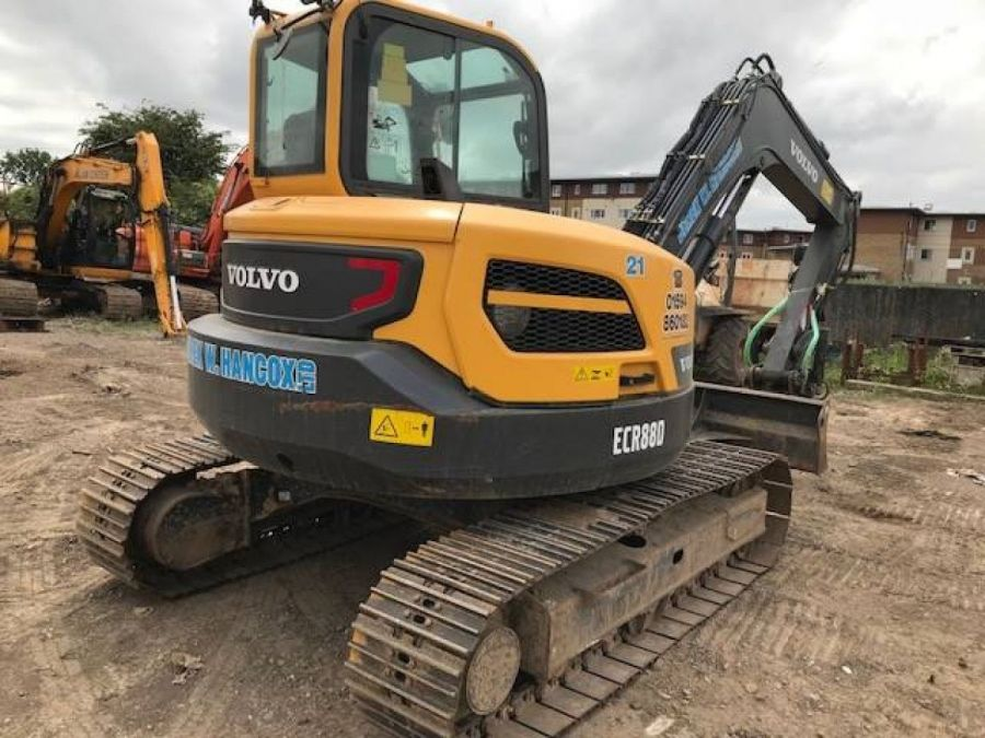 Used Excavator 2015 Volvo ECR88D for Sale - 3