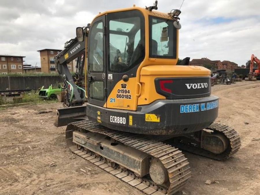 Used Excavator 2015 Volvo ECR88D for Sale - 4