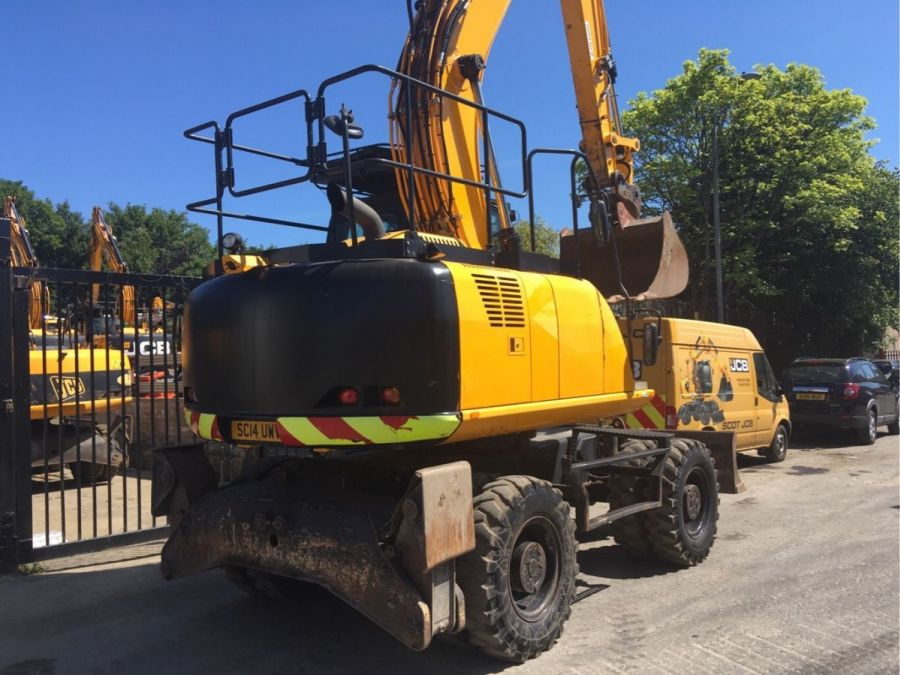 Used Excavator 2014 JCB JS 145W for Sale - 3 - Thumbnail