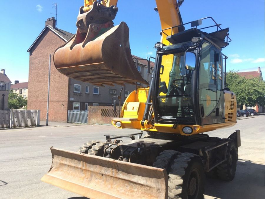 Used Excavator 2014 JCB JS 145W for Sale - 1 - Thumbnail