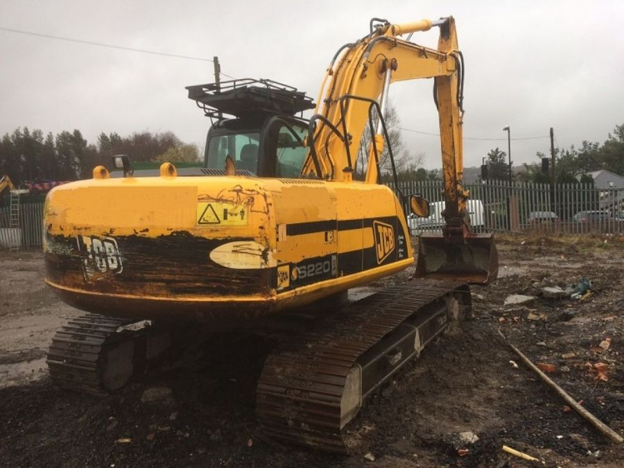 Used Excavator 2007 JCB JS 220 for Sale - 5 - Thumbnail