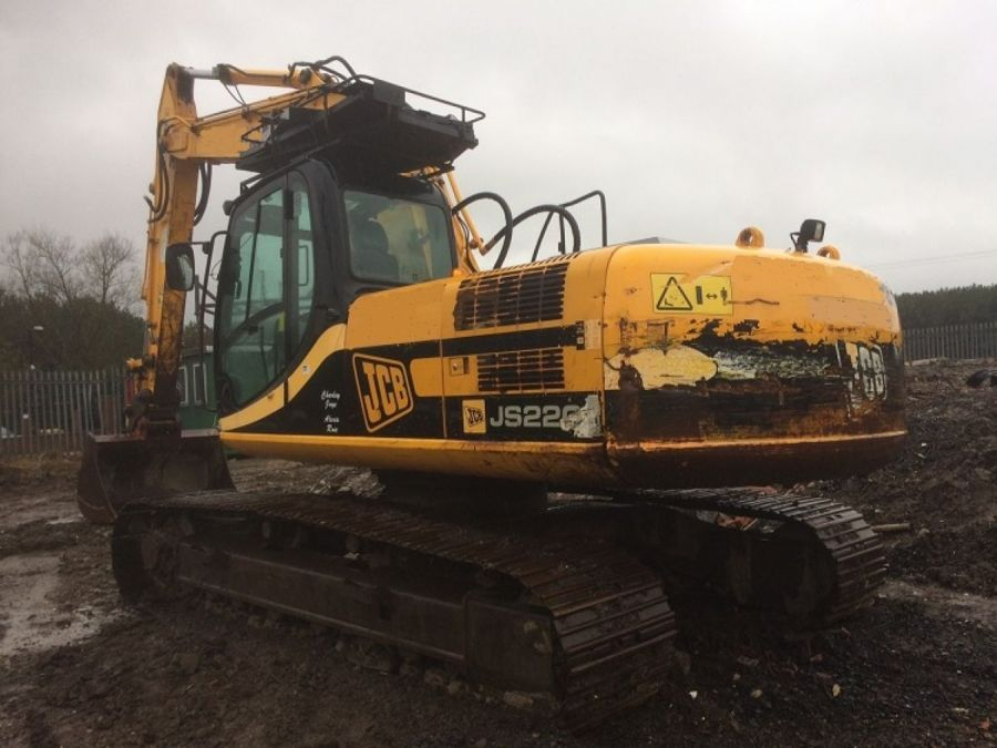 Used Excavator 2007 JCB JS 220 for Sale - 4 - Thumbnail