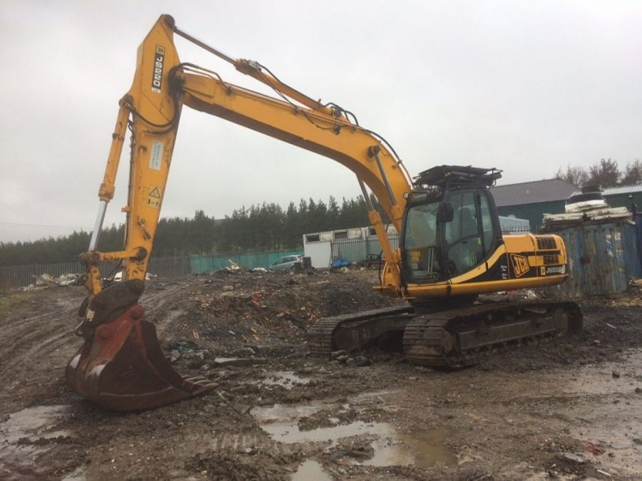 Used Excavator 2007 JCB JS 220 for Sale - 1 - Thumbnail