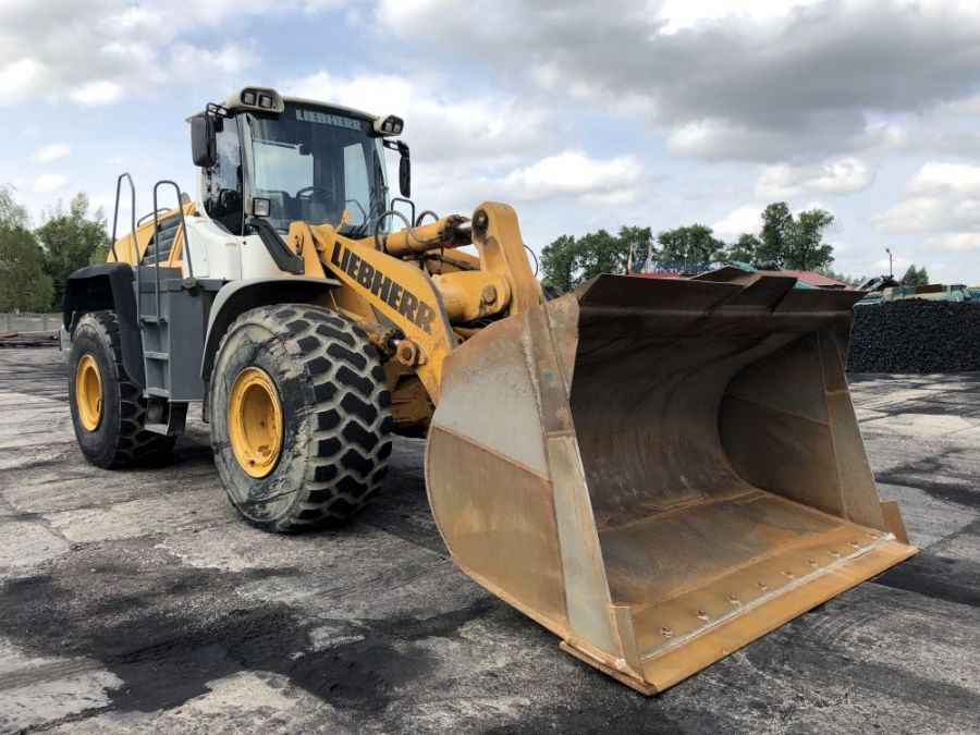 Used Wheel Loader 2009 Liebherr L 566 for Sale - 2