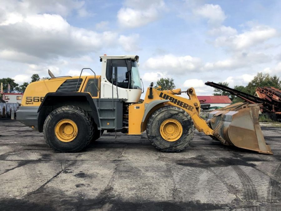 Used Wheel Loader 2009 Liebherr L 566 for Sale - 1