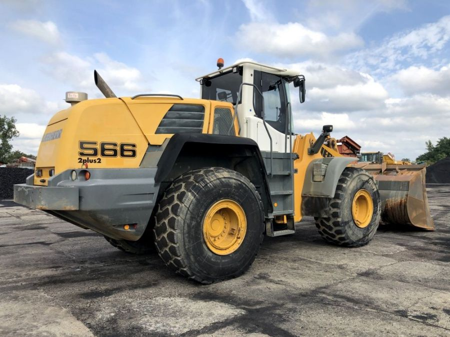 Used Wheel Loader 2009 Liebherr L 566 for Sale - 4