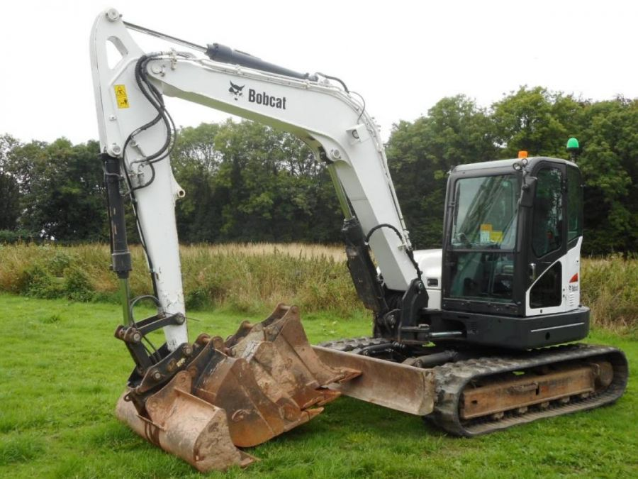 Used Excavator 2014 Bobcat E85 for Sale - 3