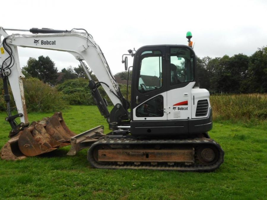 Used Excavator 2014 Bobcat E85 for Sale - 2
