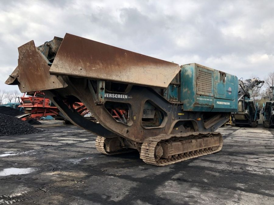 Used Crusher 2014 Powerscreen Premiertrak R400 for Sale - 2