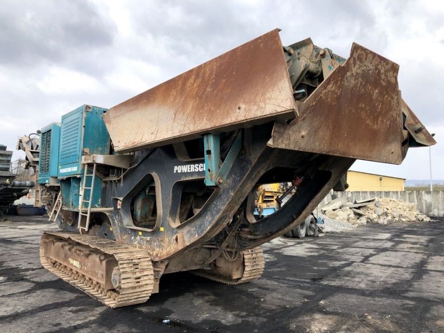Used Crusher 2014 Powerscreen Premiertrak R400 for Sale - 3
