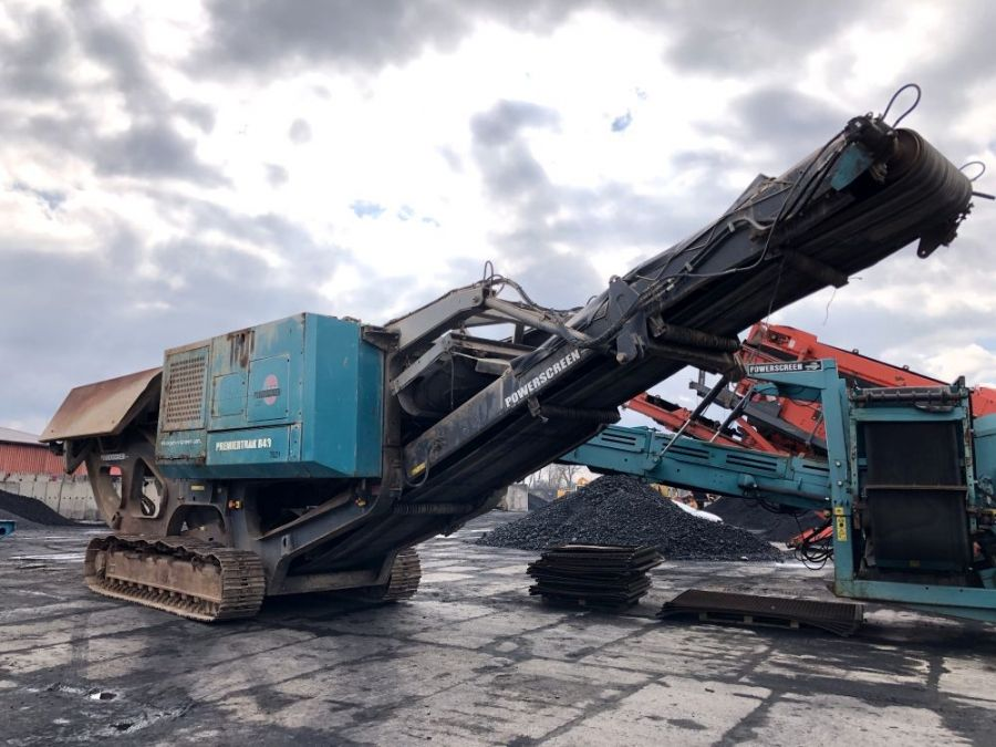 Used Crusher 2014 Powerscreen Premiertrak R400 for Sale - 1