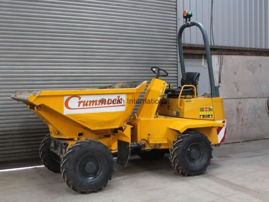 Used Dump Truck 2006 Thwaites 3T Swivel for Sale - 3