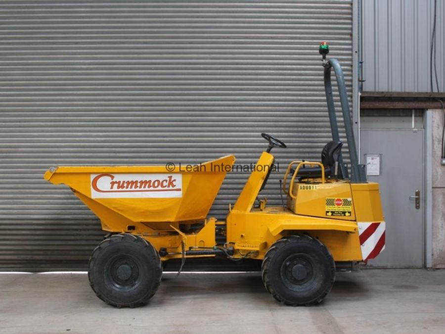 Used Dump Truck 2006 Thwaites 3T Swivel for Sale - 5