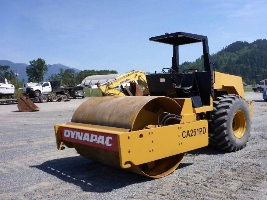 Used Roller 1992 Dynapac CA251D for Sale - 3