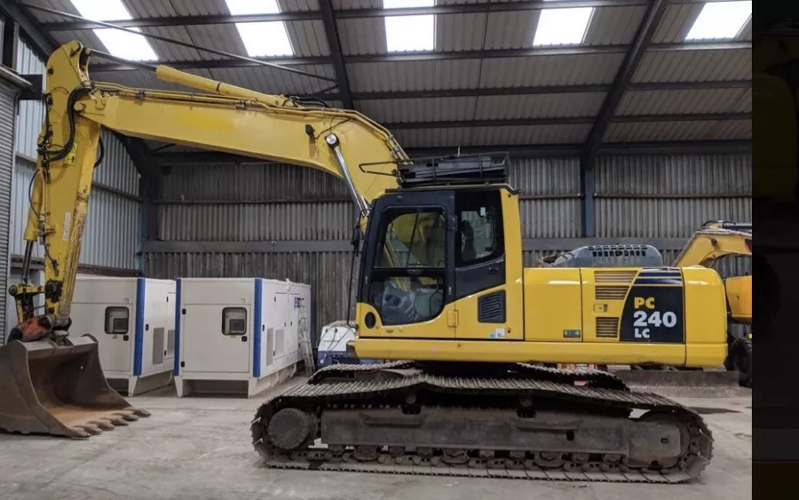 Used Excavator 2010 Komatsu PC240LC-10 for Sale - 2