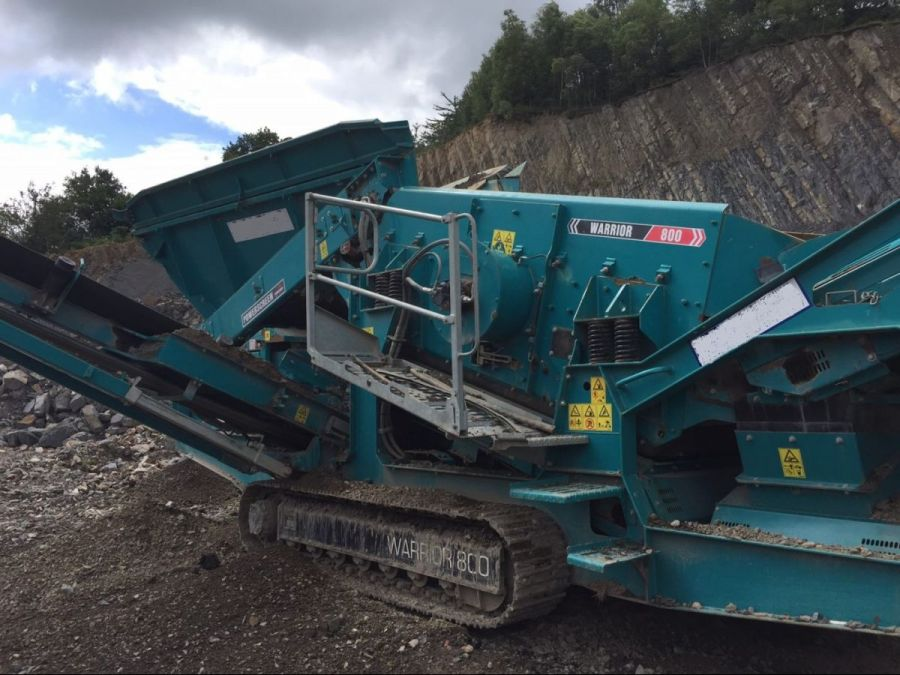 Used Screener 2013 Powerscreen Warrior 800 for Sale - 1