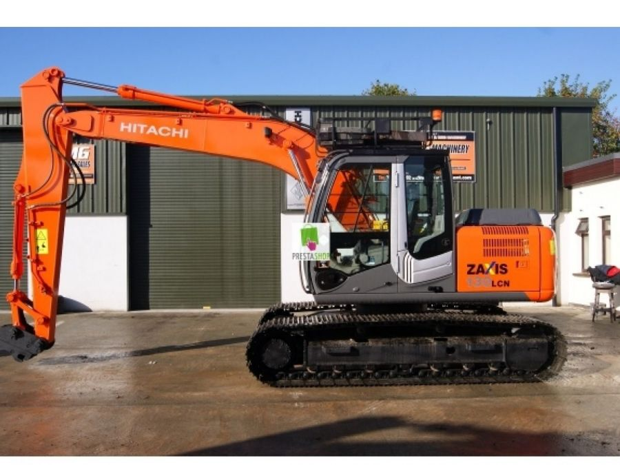 Used Excavator 2012 Hitachi ZX130LCN for Sale - 1