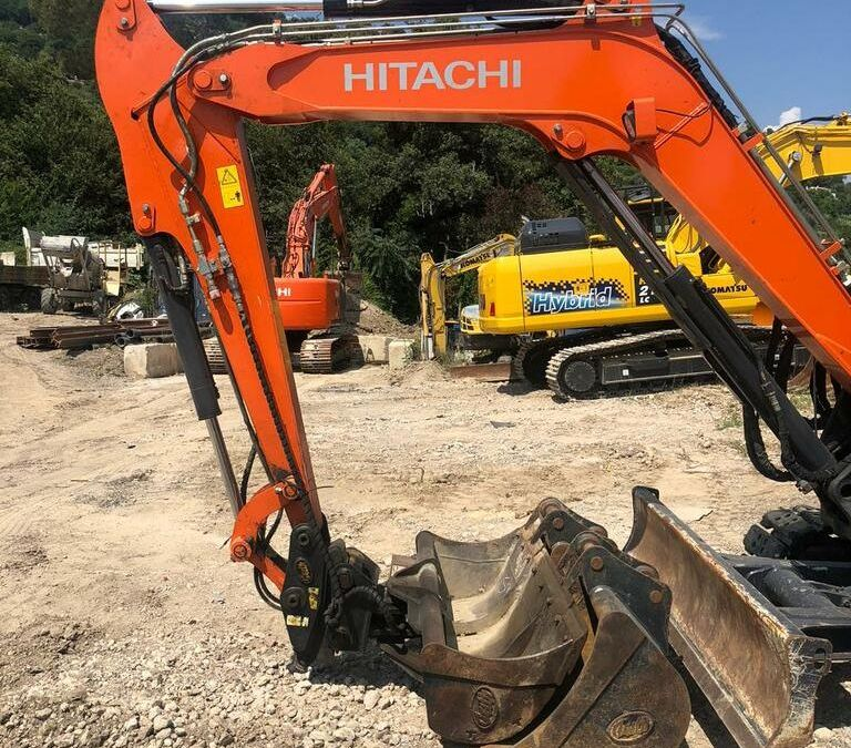 Used Excavator 2017 Hitachi ZX65 for Sale - 1