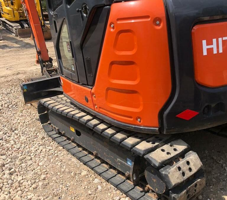 Used Excavator 2017 Hitachi ZX65 for Sale - 2