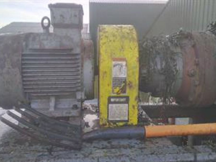 Used High Speed Shredder / Grinder 1997 SSI 600E for Sale - 3 - Thumbnail