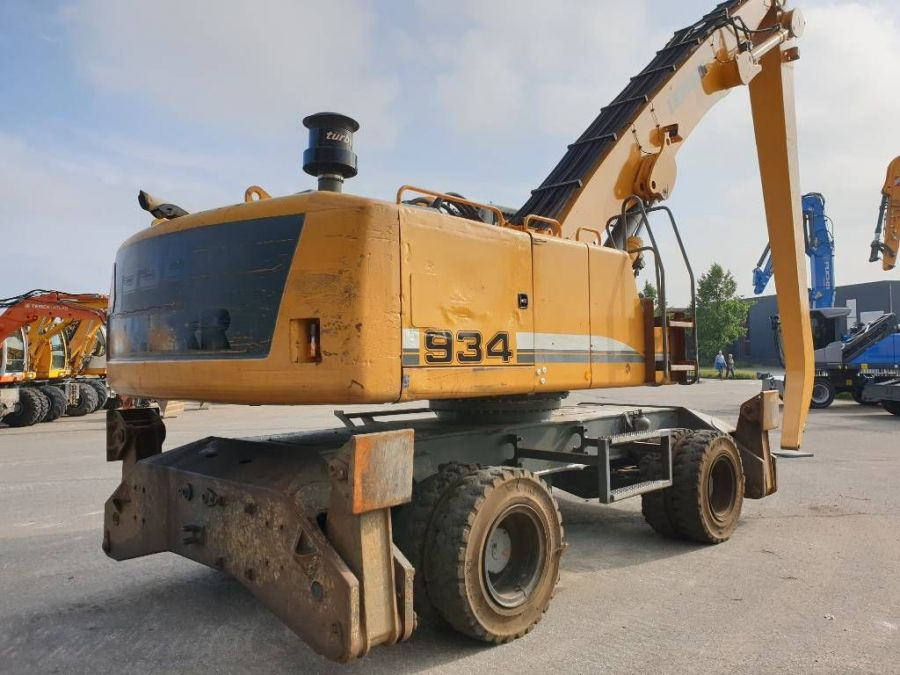 Used Excavator 2012 Liebherr A 934 C Litronic for Sale - 2
