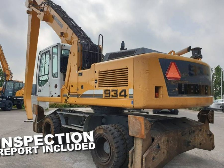 Used Excavator 2012 Liebherr A 934 C Litronic for Sale - 1