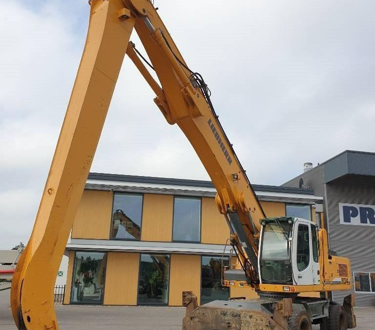 Used Excavator 2012 Liebherr A 934 C Litronic for Sale - 4