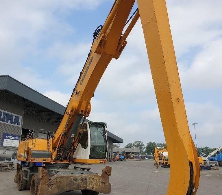 Used Excavator 2012 Liebherr A 934 C Litronic for Sale - 3