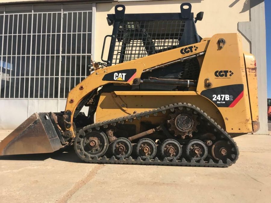 Used Skid Steer 2008 Caterpillar 247B2 for Sale - 3