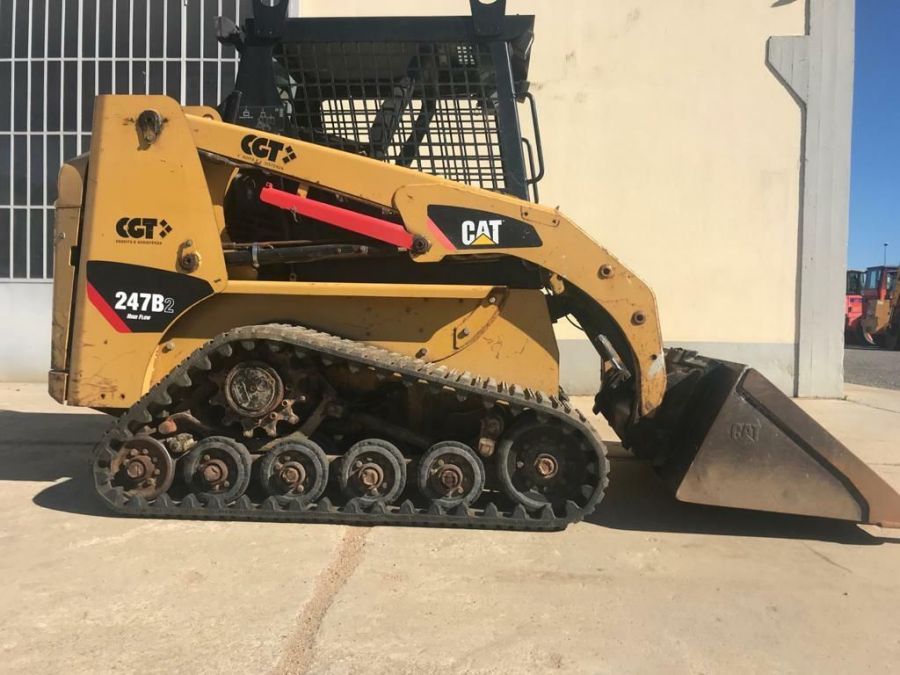 Used Skid Steer 2008 Caterpillar 247B2 for Sale - 1