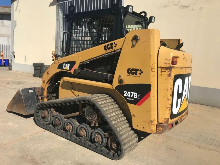 Used Skid Steer 2008 Caterpillar 247B2 for Sale - 2