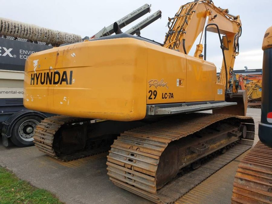 Used Excavator 2008 Hyundai Robex 290 LC-7 A for Sale - 2