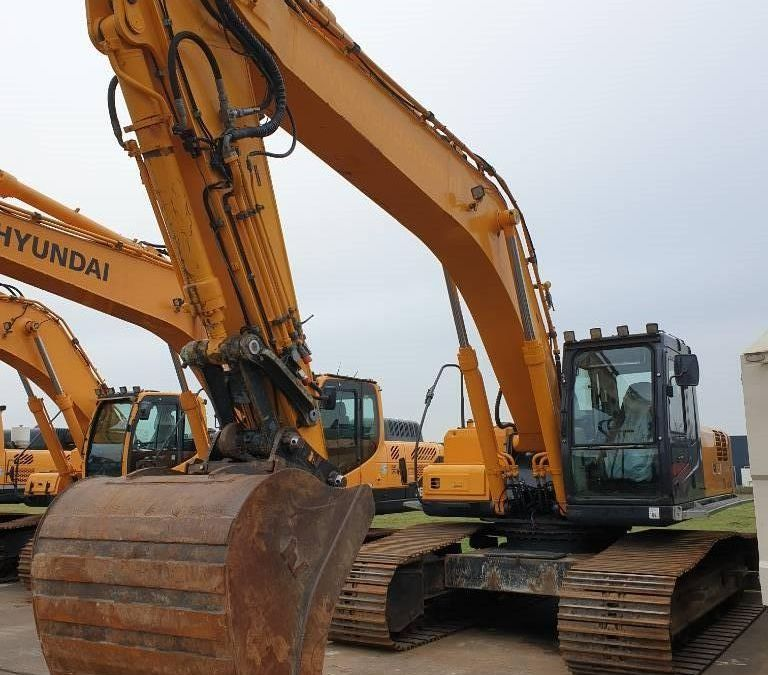 Used Excavator 2008 Hyundai Robex 290 LC-7 A for Sale - 5