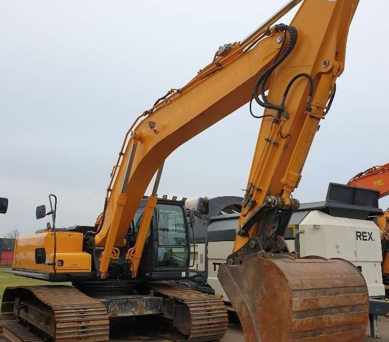 Used Excavator 2008 Hyundai Robex 290 LC-7 A for Sale - 4