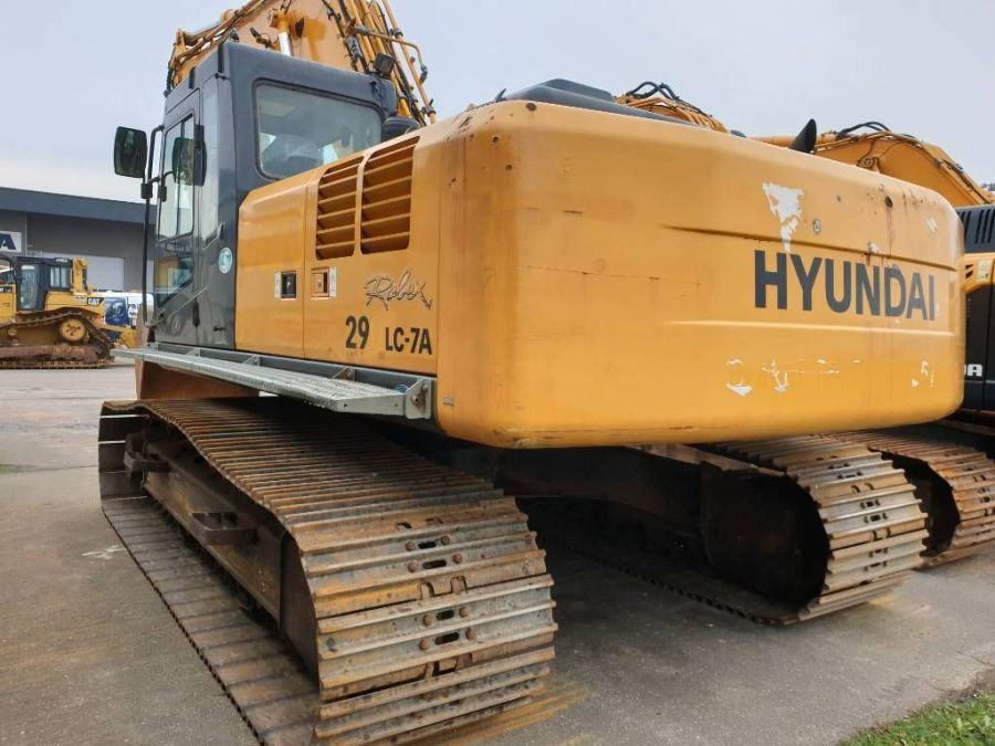 Used Excavator 2008 Hyundai Robex 290 LC-7 A for Sale - 1