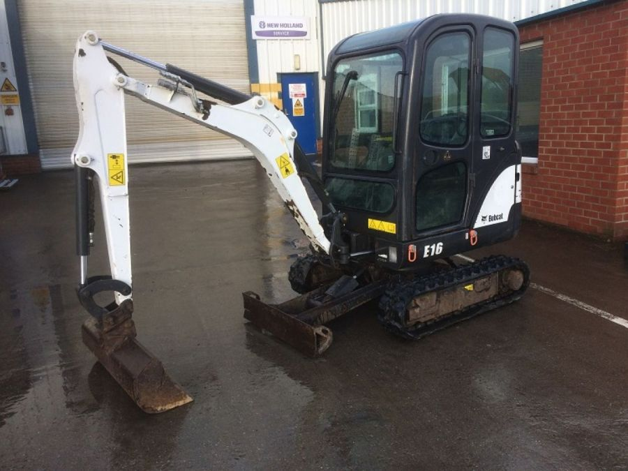 Used Excavator 2013 Bobcat E16 for Sale - 1