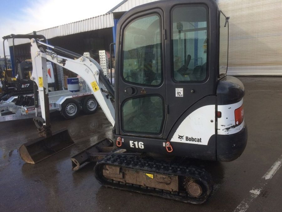 Used Excavator 2013 Bobcat E16 for Sale - 2