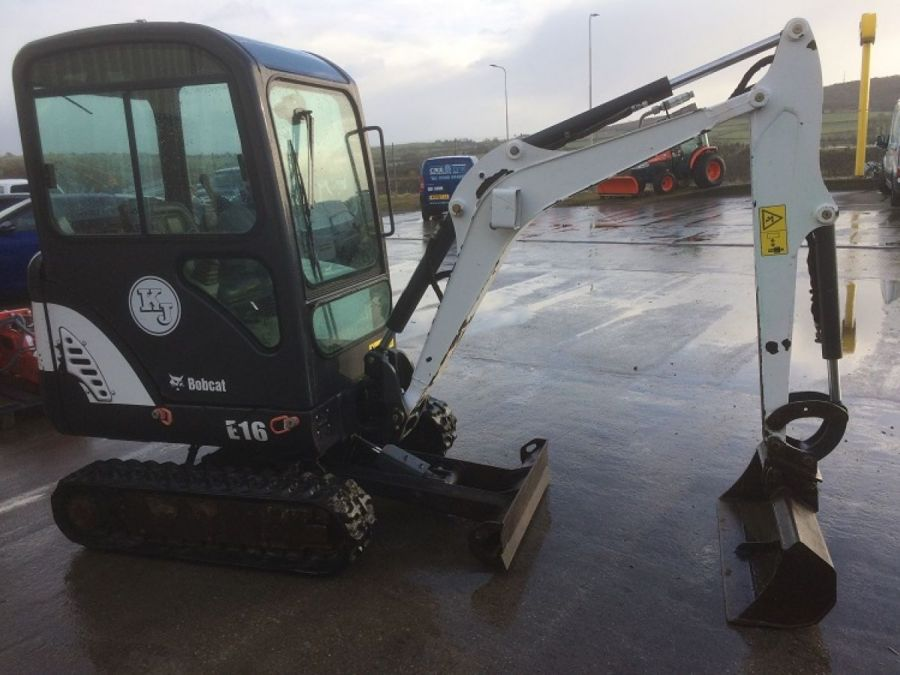 Used Excavator 2013 Bobcat E16 for Sale - 3