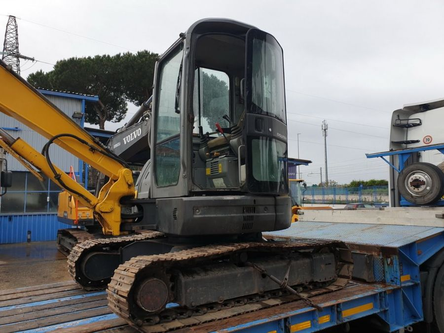 Used Excavator 2008 New Holland E50.2SR for Sale - 1