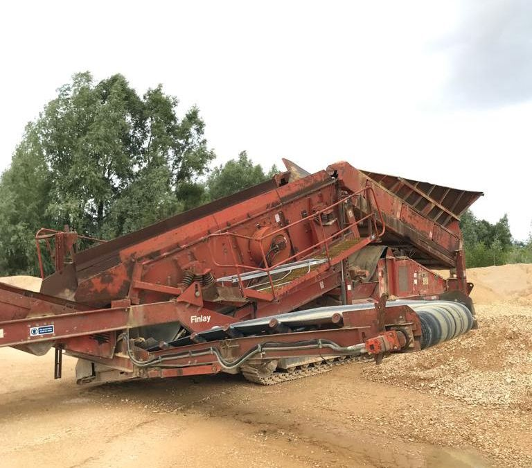 Used Screener 2003 Terex Finlay 883 for Sale - 1