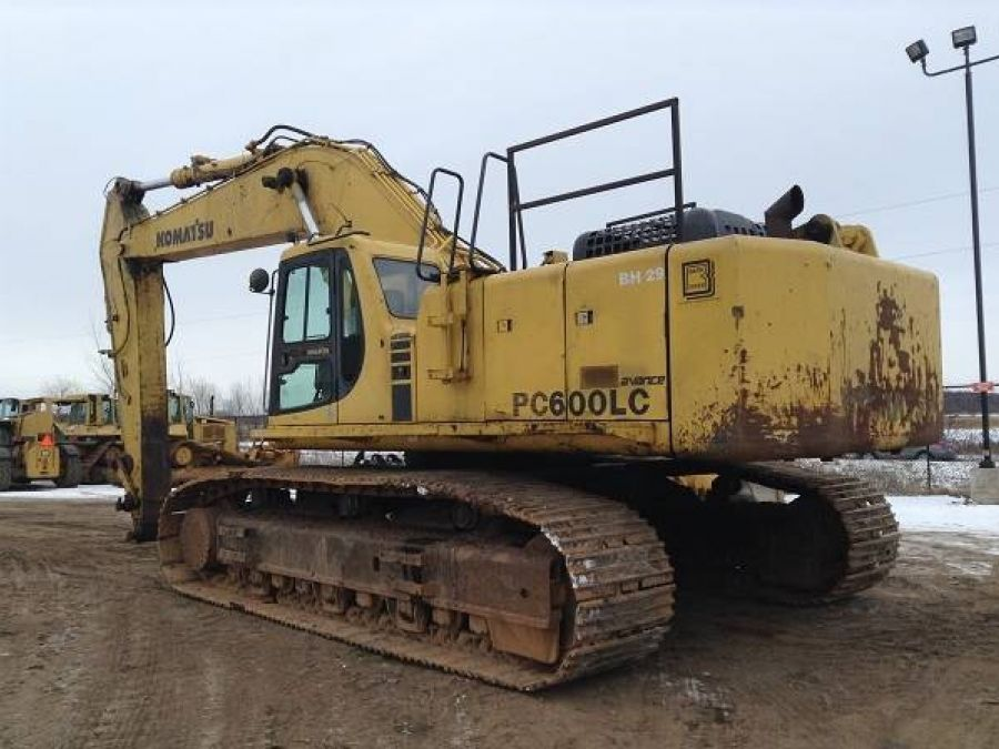 Used Excavator 2003 Komatsu PC600 for Sale - 3