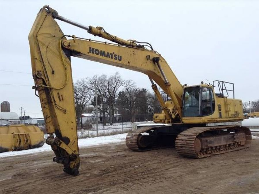 Used Excavator 2003 Komatsu PC600 for Sale - 2