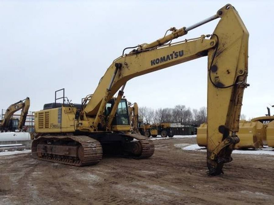 Used Excavator 2003 Komatsu PC600 for Sale - 1